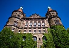 Ksiaz城堡外部 库存图片