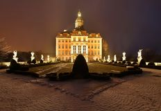 Ksiaz castle Royalty Free Stock Photography