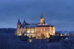 Ksiaz Castle In Poland Stock Image