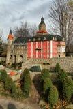 Ksiaz castle miniature Stock Photo
