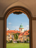 Ksiaz Castle. Photo was taken on Ksiaz Castle in Walbrzych,Poland stock photography