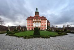 Ksiaz castle in Poland Stock Image