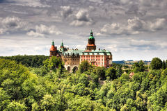 Ksiaz Castle in Walbrzych Royalty Free Stock Image