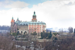 Ksiaz Palace Royalty Free Stock Photos