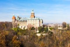 Ksiaz Palace. In Silesia, Poland Stock Photos