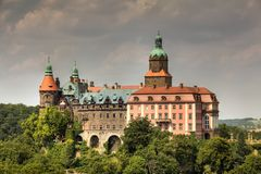 Ksiaz Palace, Silesia, Poland Stock Photography