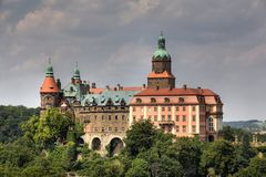 Ksiaz Palace, Silesia, Poland Stock Photo