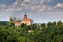 Ksiaz Palace, Silesia, Poland Stock Photos