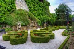 Ksiaz rückseitige Gärten Lizenzfreie Stockbilder