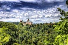 Ksiaz Schloss Stockbild