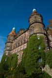 Ksiaz-Schloss im Herbst Lizenzfreie Stockbilder