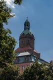 Ksiaz-Schloss in Polen lizenzfreie stockbilder