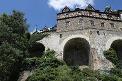 Ksiaz slott Royaltyfria Bilder