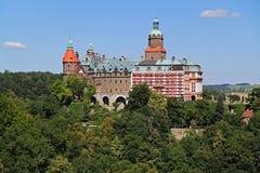 Ksiaz slott Royaltyfri Foto