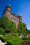 Ksiaz slott, Walbrzych, Polen Arkivbild