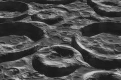 Księżyc powierzchnia Obrazy Royalty Free