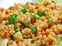 Kısır.bulgur salad or meze Royalty Free Stock Photography