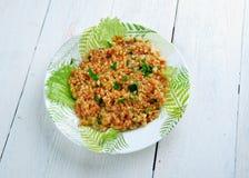 Kısır.bulgur salad or meze Stock Photography