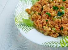 Kısır.bulgur salad or meze Stock Photo