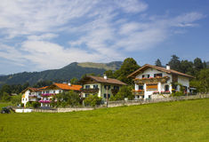Kössen in Alps, Austria Stock Photo