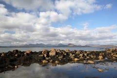 Küste in Connemara Stockbilder