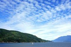 Küste des Britisch-Columbia Lizenzfreie Stockfotos