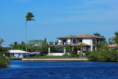 Küstenflorida-Haus Lizenzfreies Stockbild