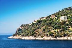 Küstenlinie in Nizza, Frankreich Stockbilder