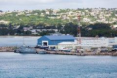 Küstenwache Station auf Barbados Stockfotos
