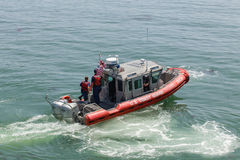 Küstenwache Vereinigter Staaten Vessel 5 Lizenzfreies Stockfoto