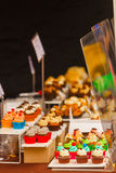 Köstliche kleine Kuchen Lizenzfreie Stockbilder