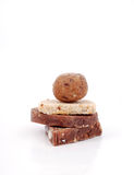 Köstliche selbst gemachte Bonbons Stockbilder