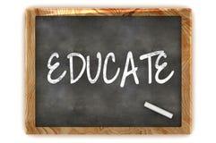 Kształci Blackboard Zdjęcie Royalty Free