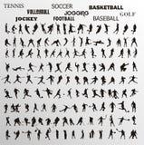 kształtów sporty ilustracji