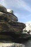 Kształt skała blisko Antofagasta zdjęcia royalty free