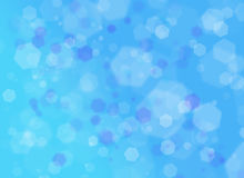 Kształta błękitny backround Zdjęcie Stock