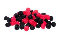 kształtująca cukierek jagodowa czarny czerwień Fotografia Stock