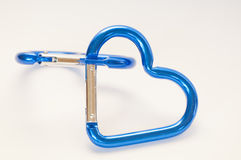 kształtujący błękitny serce zdjęcia stock