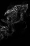Kształtujący potwór, czarny tło zdjęcie stock