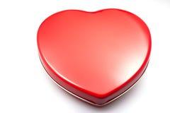 kształtujący pudełkowaty serce Fotografia Stock