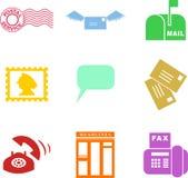 kształty komunikacji royalty ilustracja
