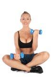 kształcenie bicepsów Fotografia Stock