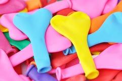 Kształtów kolorowi Kierowi Balony. Zdjęcia Royalty Free