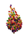 kształt abstrakcyjnych gwiazdy Fotografia Royalty Free