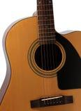 Kształt gitara akustyczna Obrazy Stock