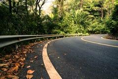 Kształt na drodze Zdjęcie Royalty Free