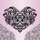 kształt serca Zdjęcia Stock