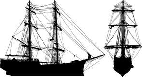 kształt statku Zdjęcie Stock