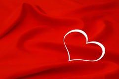 kształta karciany kierowy valentine Fotografia Stock