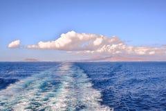 Kształtuje teren w Tropikalnych Powulkanicznych wyspach kanaryjska Hiszpania Zdjęcia Royalty Free